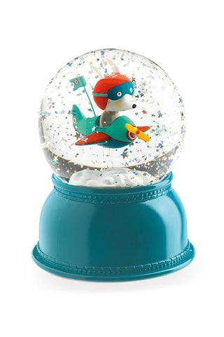 Snowglobe Nightlight - Airplane