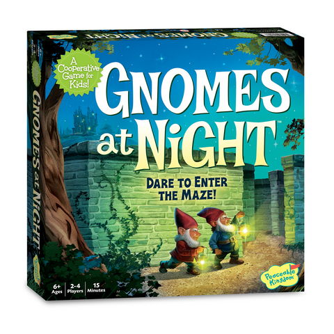 Gnomes at Night- Dare to Enter the Maze!