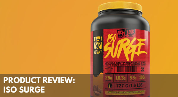 Product Review: Mutant Iso Surge