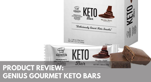 Product Review: Genius Gourmet Keto Bars