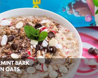 Peppermint Bark Protein Oats