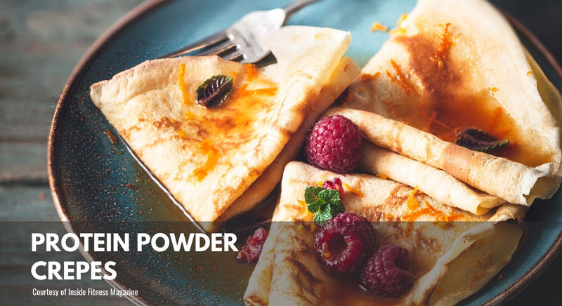 Protein Powder Crepes