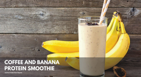 Coffee and Banana Protein Smoothie