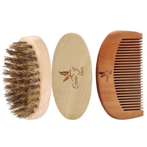 Beard Brush + Comb