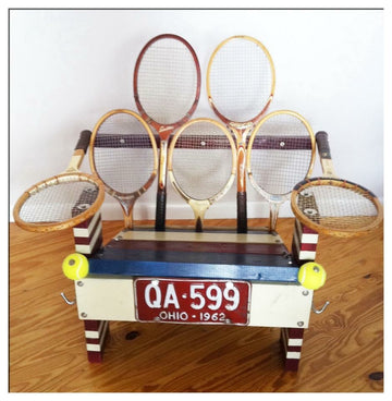 Reclaimed Wooden Chair, Rackets