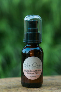 Vitality Facial Serum – Botanical Rose  50ml - OUT OF STOCK BACK ONLINE SOON
