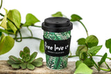 Bamboo Biodegradable Keep Cup                                       (multi-purpose with straw hole & sipper)  400ml