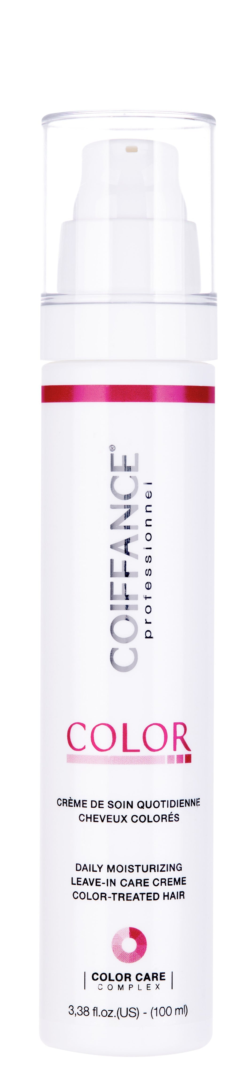color moisturizing leave in care creme