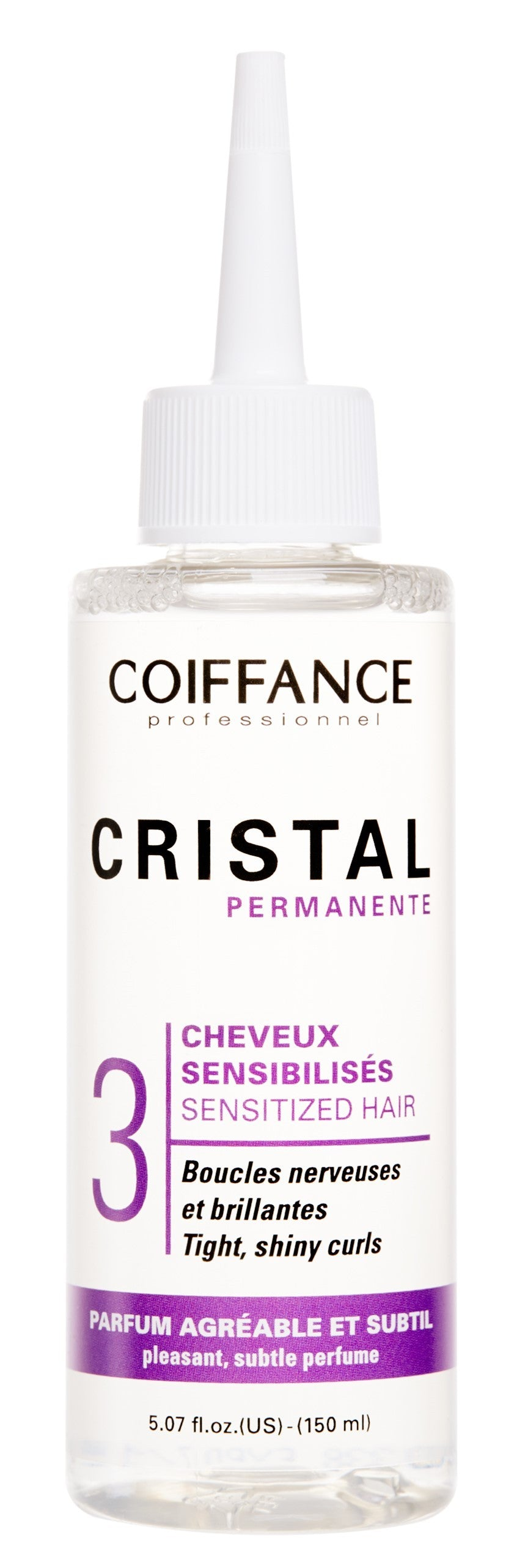 Coiffance -  Cristal Perm force 3 -  sensitized, highlighted hair 150ML