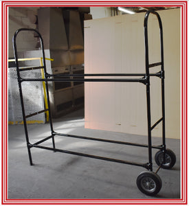 TWO TIER TIRE RACK