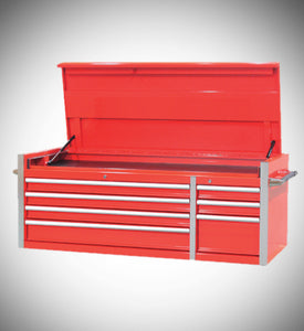 "56"" Rolling Industrial Tool Cabinet With Removable Top Chest"