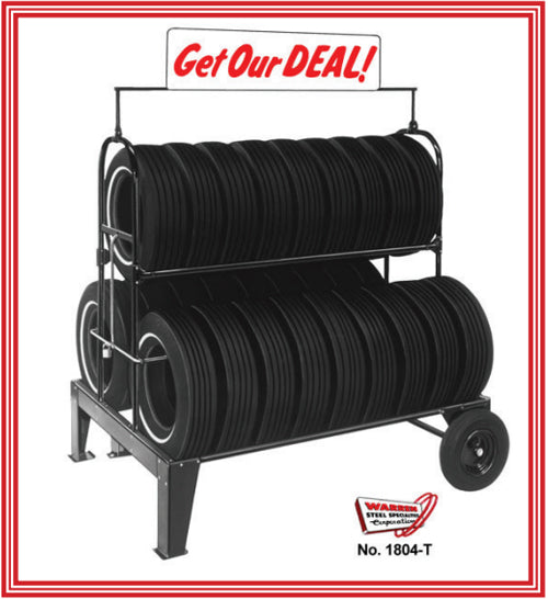 No. 1804 THREE-TIER TIRE RACK