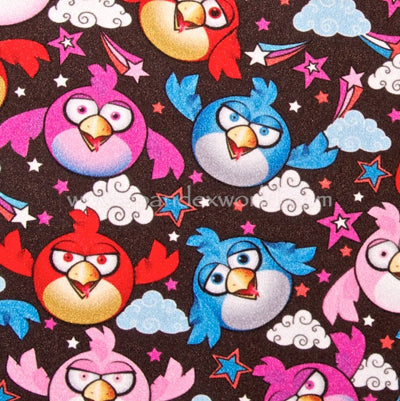 Colorful Birds Shorts