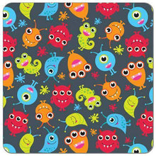 Little Monsters One Size Fluff AI2 (Blue Snaps)