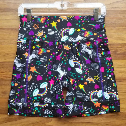 Rainbow Unicorn Shorts