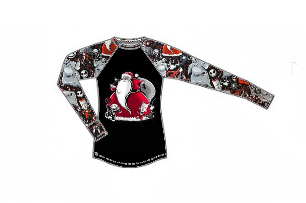 Merry Nightmare Long Sleeve Raglan