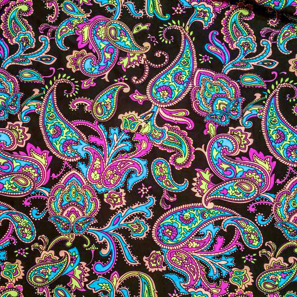 Colorful Paisley Skort