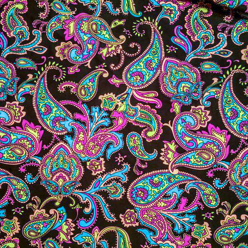 Colorful Paisley Shorts