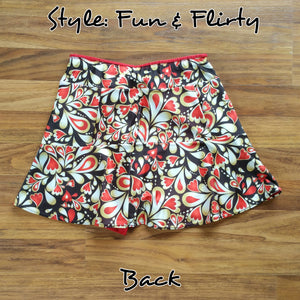 Queen of Hearts Skort