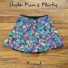 Abstract Butterfly Skort