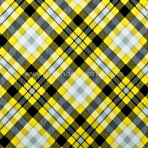 Diamond Yellow Plaid Skort