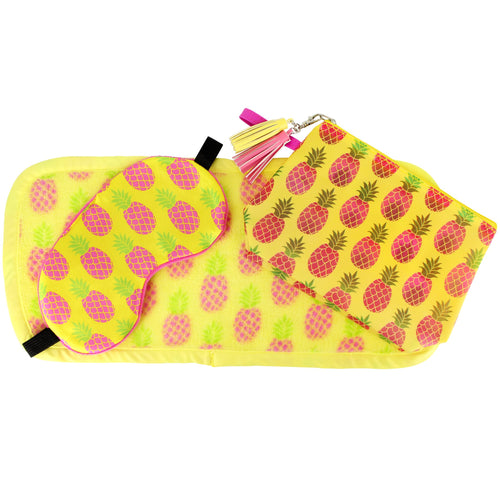 MakeUp Eraser 3-Piece Pineapple Set