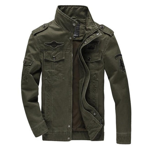 Men's Military Army Jacket  Sizes M - 6XL - eStarkShop Buy electronics, fashion apparel, collectibles, sporting goods, and everything else on eStarkShop, the world's online marketplace.