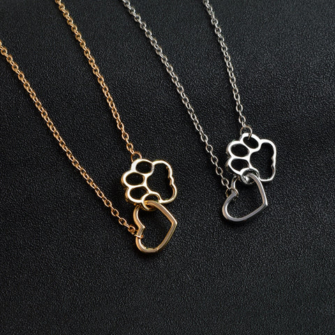 Cute Paw Footprint Cat Dog Necklace - eStarkShop Buy electronics, fashion apparel, collectibles, sporting goods, and everything else on eStarkShop, the world's online marketplace.