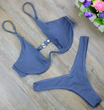 New High Cut Thong Bathing Swim Bikini Set - eStarkShop Buy electronics, fashion apparel, collectibles, sporting goods, and everything else on eStarkShop, the world's online marketplace.