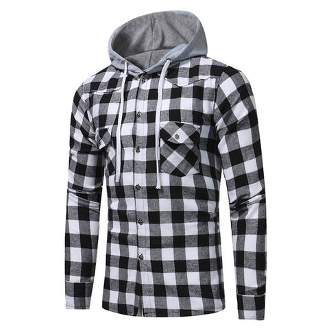 Men's Plaid Hoodie Sweatshirt Sizes L-XXXL - eStarkShop Buy electronics, fashion apparel, collectibles, sporting goods, and everything else on eStarkShop, the world's online marketplace.