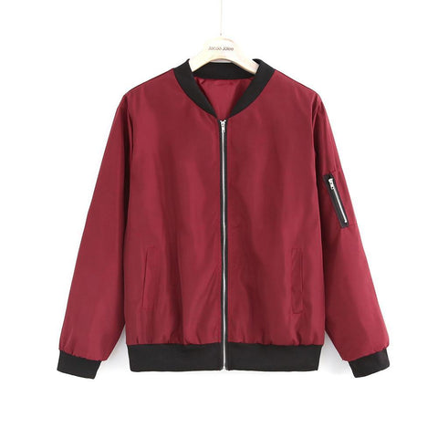 Long Sleeve Fashion Bomber Jacket - eStarkShop Buy electronics, fashion apparel, collectibles, sporting goods, and everything else on eStarkShop, the world's online marketplace.
