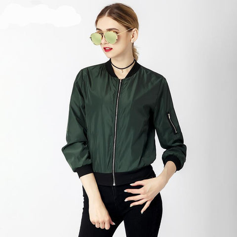 Casual Zipper Bomber Jacket - eStarkShop Buy electronics, fashion apparel, collectibles, sporting goods, and everything else on eStarkShop, the world's online marketplace.