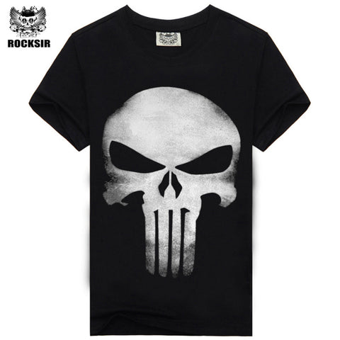 The Punisher Short Sleeved Casual T-shirt - eStarkShop Buy electronics, fashion apparel, collectibles, sporting goods, and everything else on eStarkShop, the world's online marketplace.