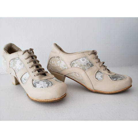 Light Pink/Lace DNI Rocio Tango Shoe 8546