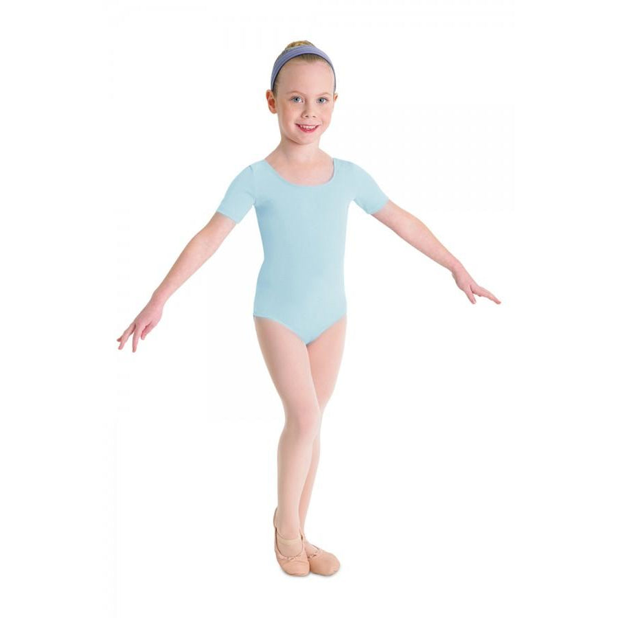 Bloch Children's Ballet Short Sleeve Leotard