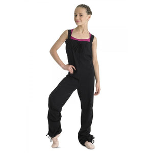 Bloch Children's Tendu Romper Warmup