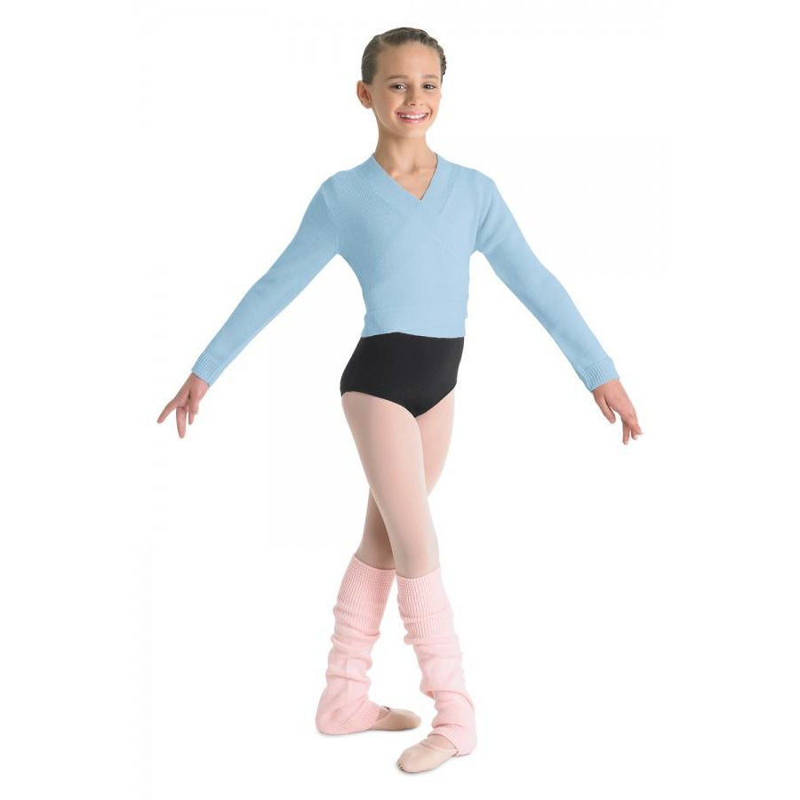 Bloch Children's Ella Ballet Wrap Sweater CZ0999