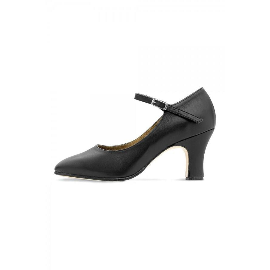 "Bloch Chord Ankle Strap 3"" Character Shoe"