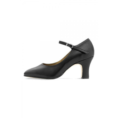"Bloch Chord Ankle Strap 3"" Character Shoe S0386L"