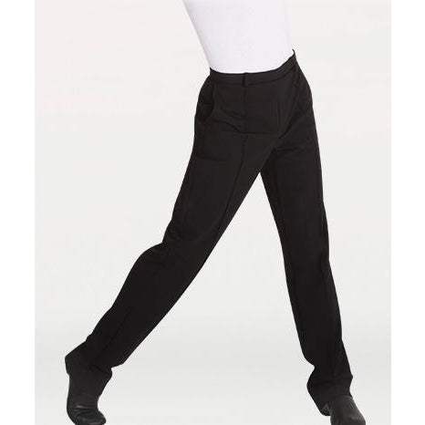 BodyWrappers Men's Straight Leg Dance Slacks