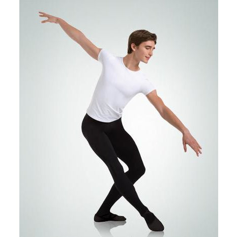 BodyWrappers Men's Convertible Foot Dance Tights M90