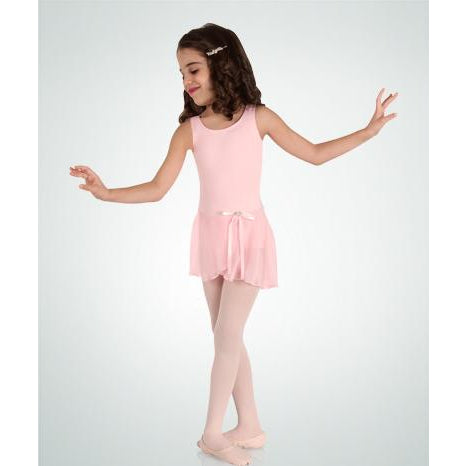 Body Wrappers Children's Skirted Tank Leotard