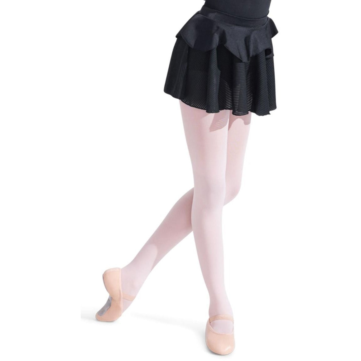 Capezio Girls Rosaria Skirt with Sheer Strips