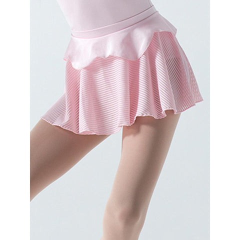 Capezio Girls Rosaria Skirt with Sheer Strips 10816C