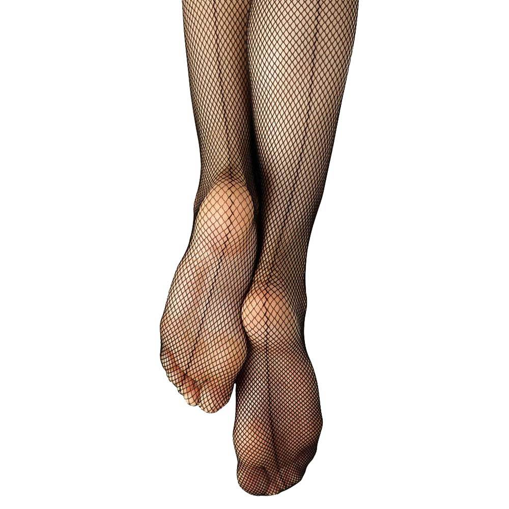 Capezio Studio Basics Fishnet Tights with Seams 3408