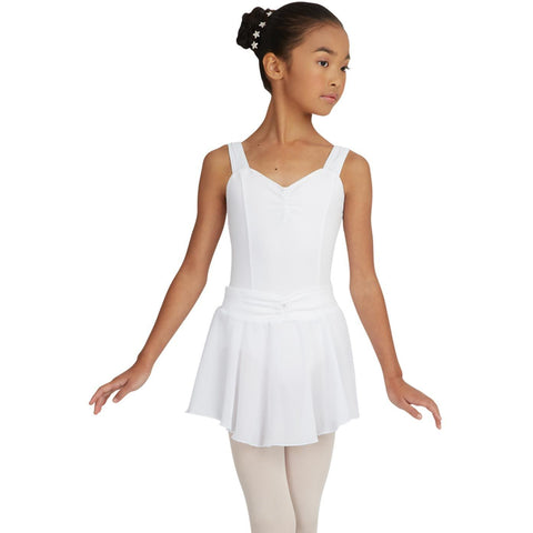 Capezio Girls Pull On Georgette Skirt with Bow N9635C