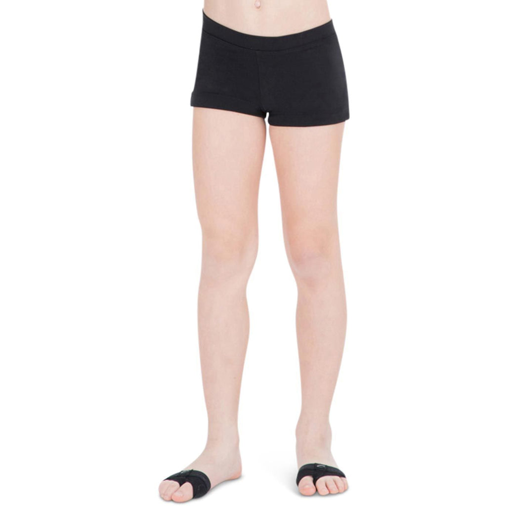 Capezio Girls Boy Cut Low Rise Shorts