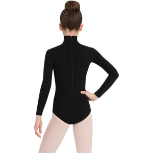 Capezio Children's Long Sleeve Turtleneck Leotard