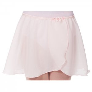 Dasha Girls Georgette Mock Wrap Skirt
