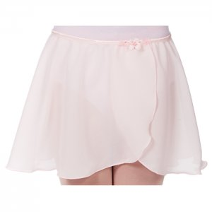 Dasha Girls Georgette Mock Wrap Skirt 4431